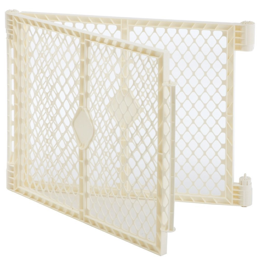 North States Superyard Baby Gate Play Yard Pen 2 Panel Extension Kit Only,  Ivory   Walmart.com