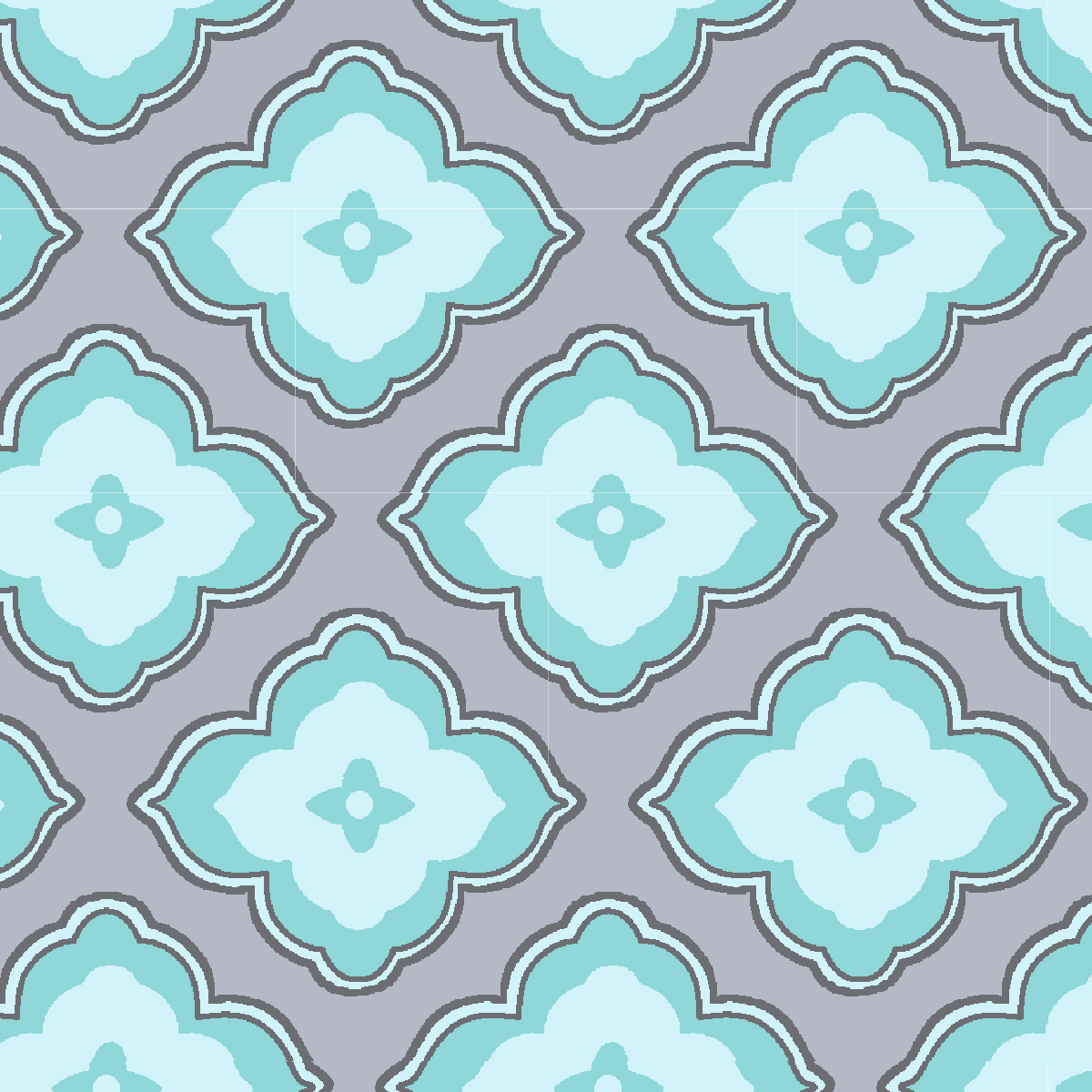 Waverly Inspirations Large Floral Aqua 100% Cotton Print Fabric 44'' Wide, 140 Gsm, Quilt Crafts Cut By The Yard