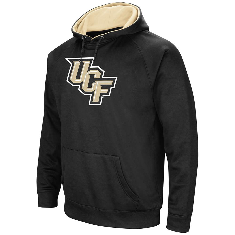 Mens UCF Knights Black Pull-over Hoodie by Colosseum