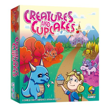 Social Sloth Games Creatures and Cupcakes Family Board (Best Family And Social Game)