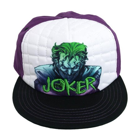 Joker DC Comics Sublimation Print Adjustable Snapback Mens Baseball Hat