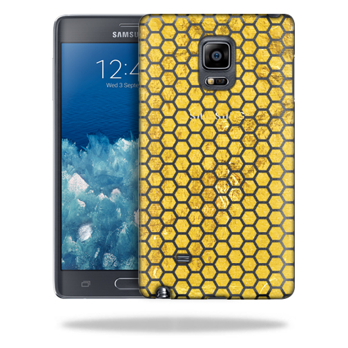 MightySkins Snap-On Protective Hard Case Cover for Samsung Galaxy Note Edge Honeycomb
