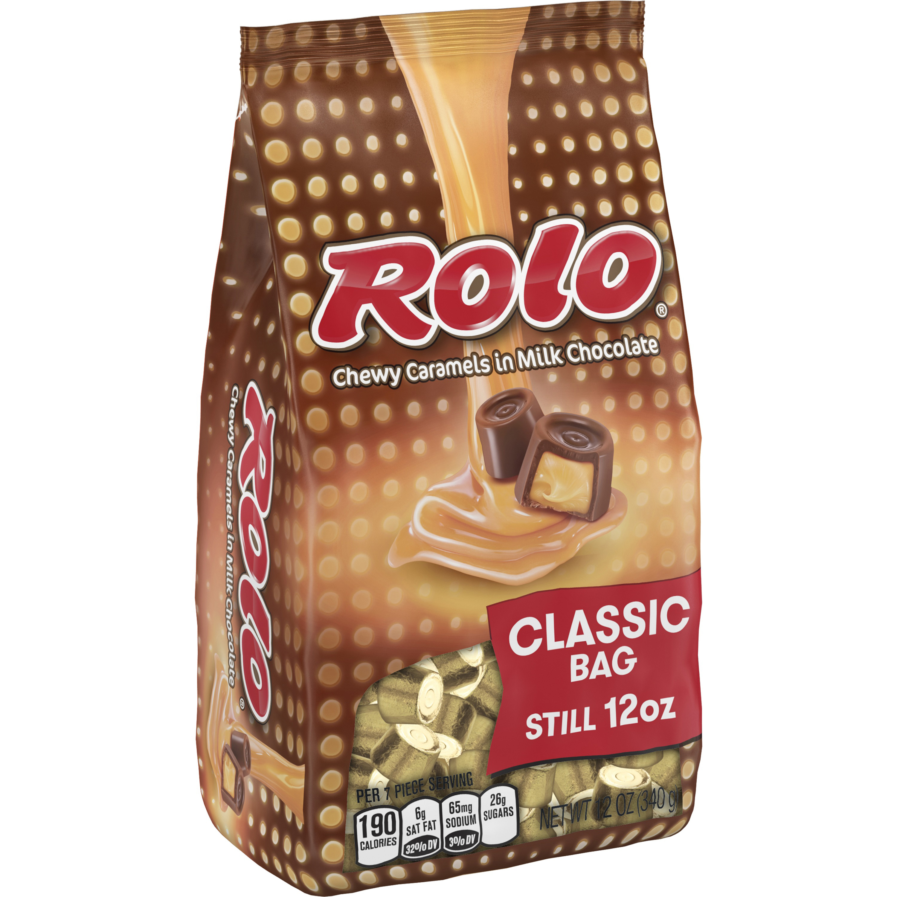 ROLO Chewy Caramels in Milk Chocolate, 12 oz by Hershey's