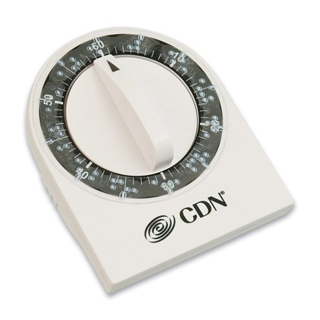 Braille Long Ring 60-Minute Mechanical Timer