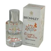 Orange & Jasmine Eau De Toilette Spray 3.3 Oz / 100 Ml for Women by Bronnley England
