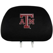 NCAA Texas A&M Aggies Head Rest Covers, Set of 2