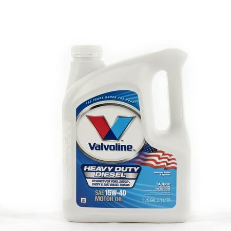 (9 Pack) Valvoline⢠Heavy Duty SAE 15W-40 Motor Oil - 1 Gallon
