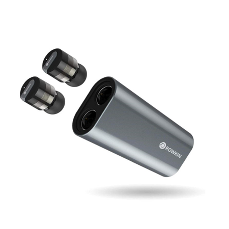 Rowkin Bit Stereo True Wireless In-Ear Headphones w/ Dual-Purpose Power Bank (Rowkin Bit Charge Stereo True Wireless Earbuds)