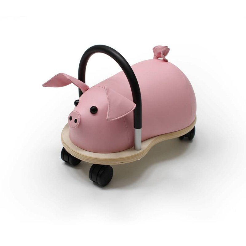 Prince Lionheart Pig Wheely Bug Riding Push Toy