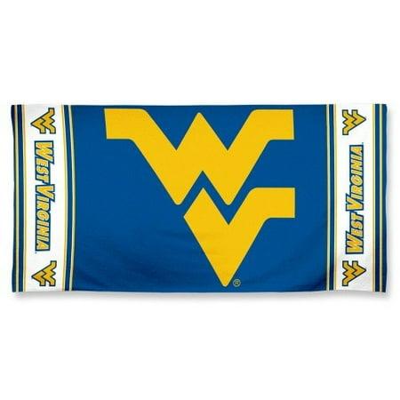 West Virginia Mountaineers Beach Bath Towel (B) - Halloween Store Virginia Beach