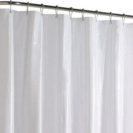 Maytex Hotel Vinyl Shower Stall Liner, White