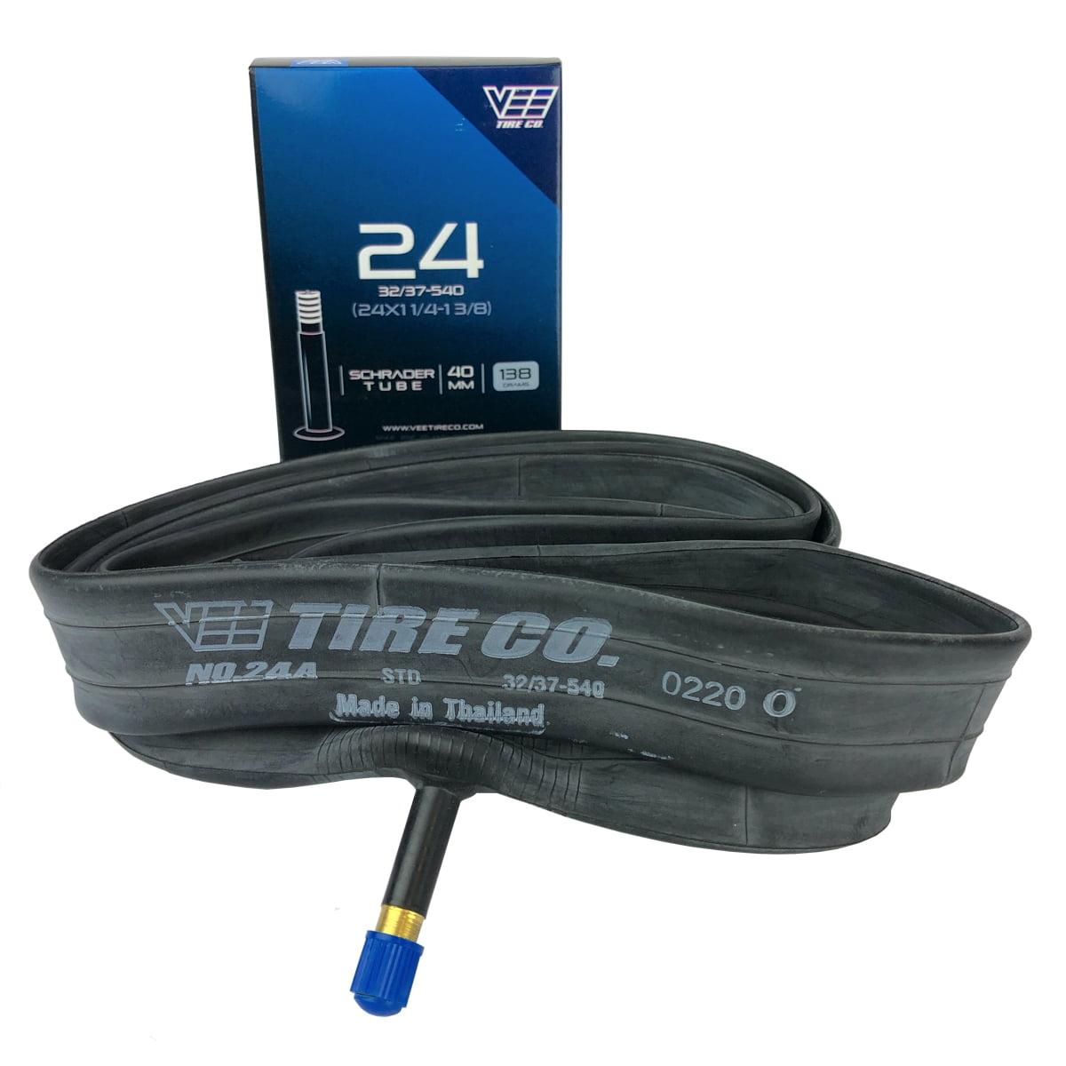 "12 x 1.75-2.25/"" Bicycle Tube Schrader Valve 4 Pack"