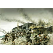 Italeri Models Coastal Bunker Assault Diorama Set Multi-Colored