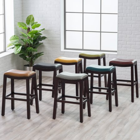 Belham Living Hutton Backless Bar Stool