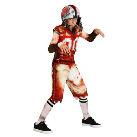 Football Player Halloween Costume Guys (Kids Zombie Football Player)