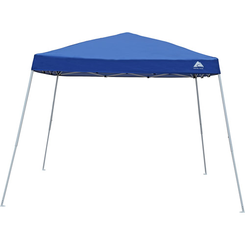 Ozark Trail 10x10 Slant Leg Instant Canopy/Gazebo Shelter (100 sq. ft Coverage  sc 1 st  Walmart : ozark trail canopy screen - memphite.com