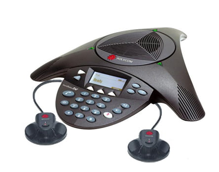 """Polycom 2200-07800-160 w  EX Mics SoundStation2W Expandable DECT 6.0 Conference Phone w  2 EX Mics"" by Polycom"