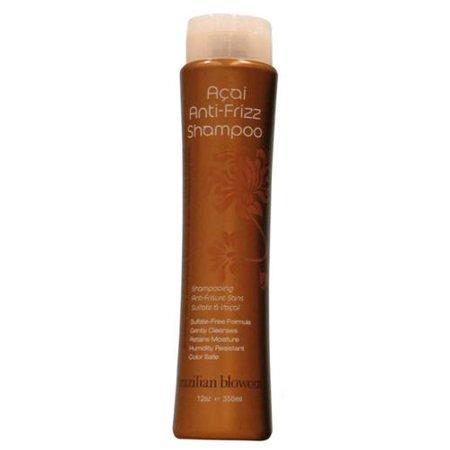 Brazilian Blowout Acai Anti-Frizz Shampoo, 12 oz (Pack of ...