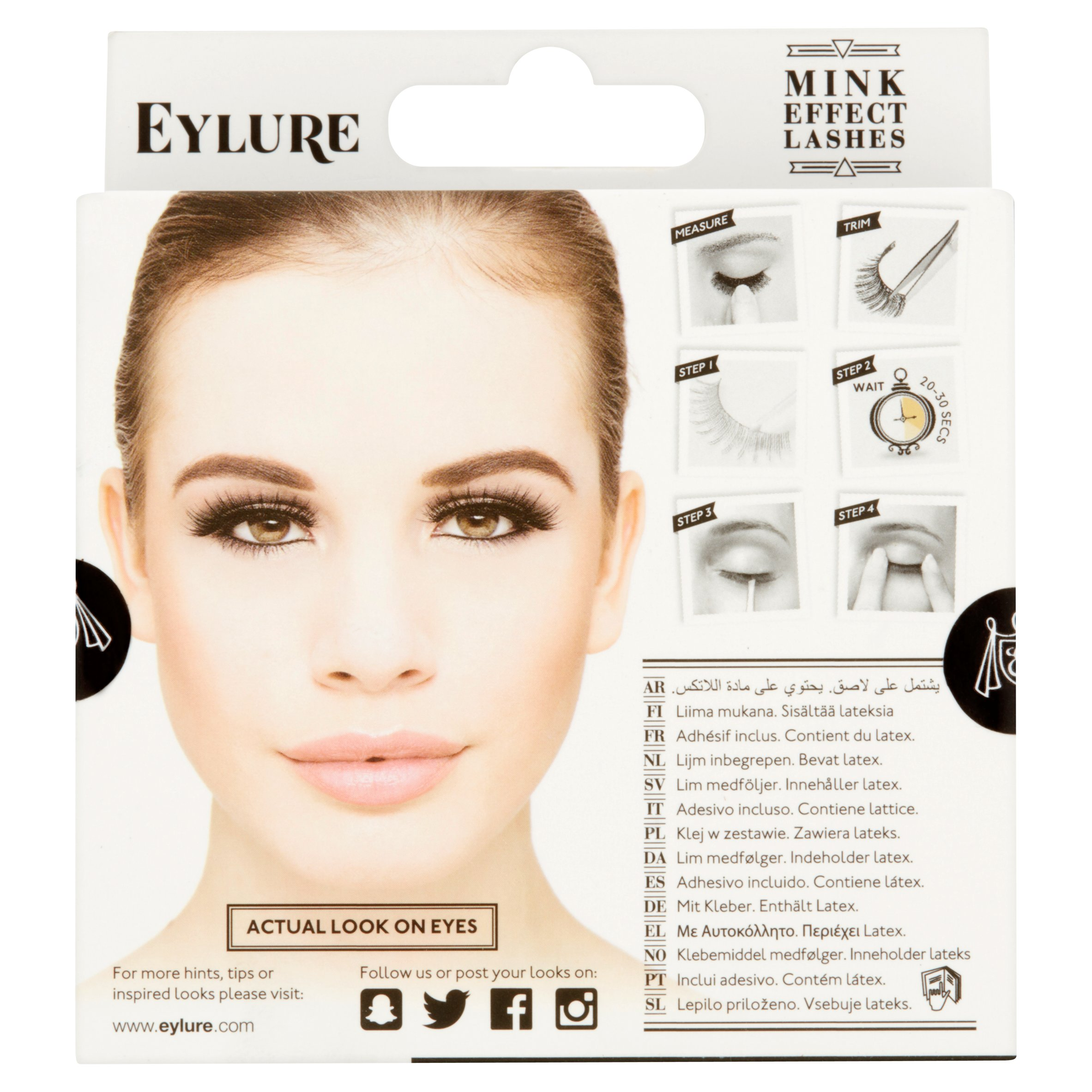 fb5d6577278 Eylure Luxe Collection Gilded Lashes - Mink Effect - Walmart.com