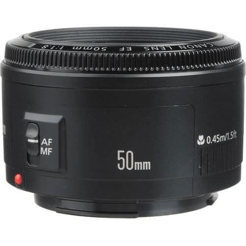 Canon 50mm F/1.8 II Standard Auto Focus Lens