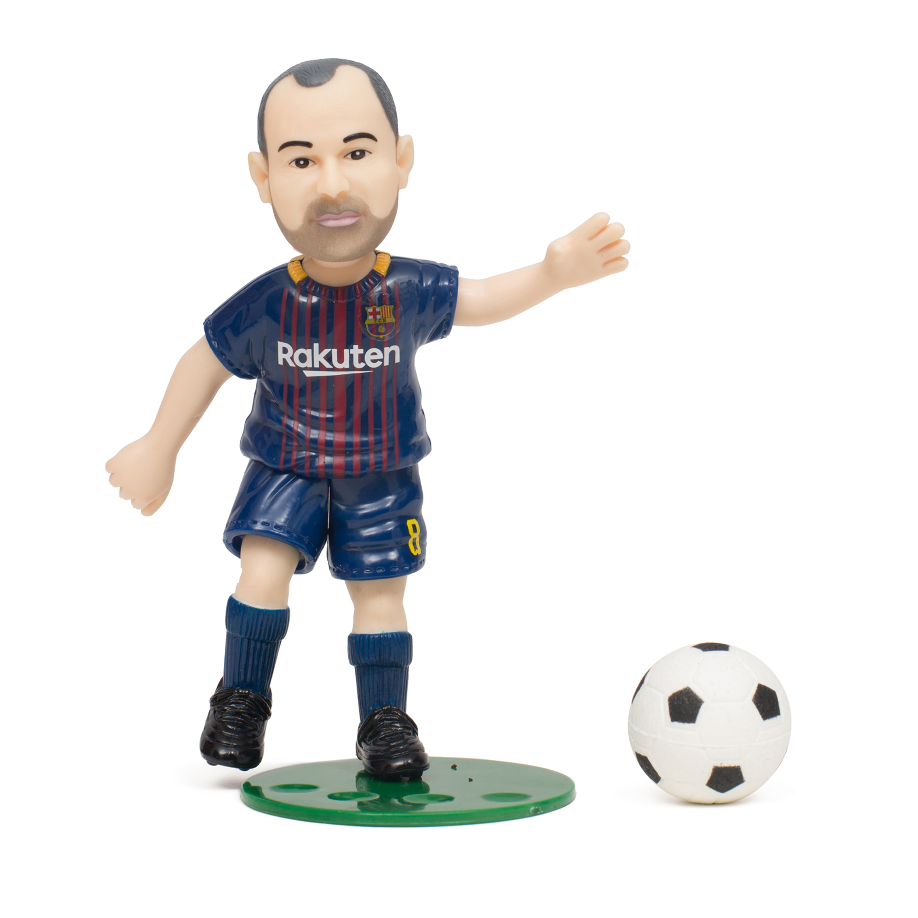 FC Barcelona Collectible Action Figure Andres Iniesta