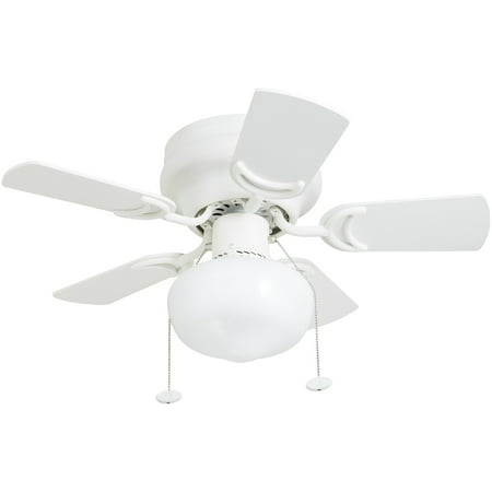 "Hero 28"" White Small Ceiling Fan"