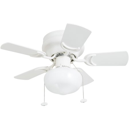 Hammered Steel Ceiling Fan (Hero 28