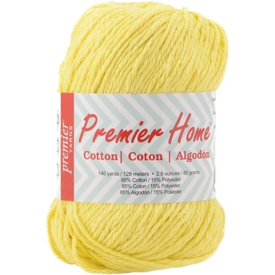 Home Cotton Yarn, Solid, Sunflower