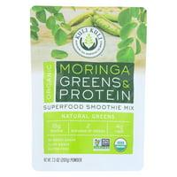 Kuli Kuli Moringa Greens And Protein Powder - Natural Greens - 7.3 Oz