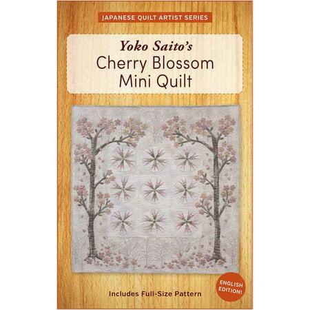 Yoko Saito's Cherry Blossom Mini Quilt
