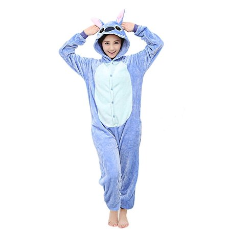 a5597c1e4b05 Scheam - Unisex Adult Pajamas Cosplay Costume Animal Onesie ...