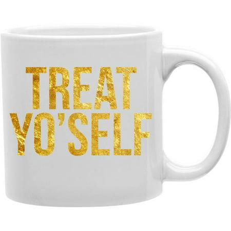 imaginarium goods cmg11-igc-gtreat gtreat - treat yo self mug ()