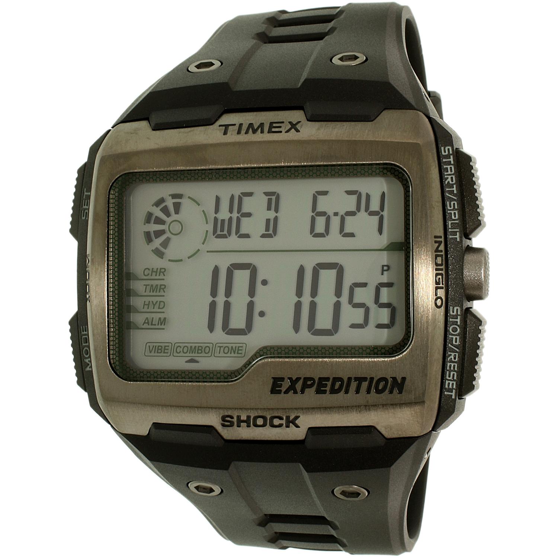 Timex Men's Expedition TW4B02500 Black Resin Quartz Sport...