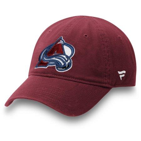 Colorado Avalanche Fanatics Branded Toddler Core Adjustable Hat - Burgundy - OSFA