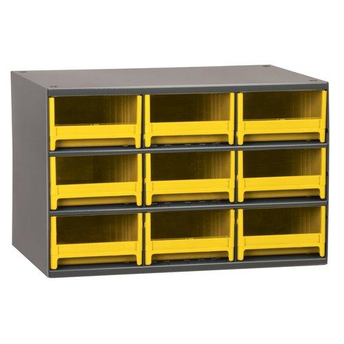 Drawer Bin Cabinet, 11 In. D, 17 In. W AKRO-MILS 19909