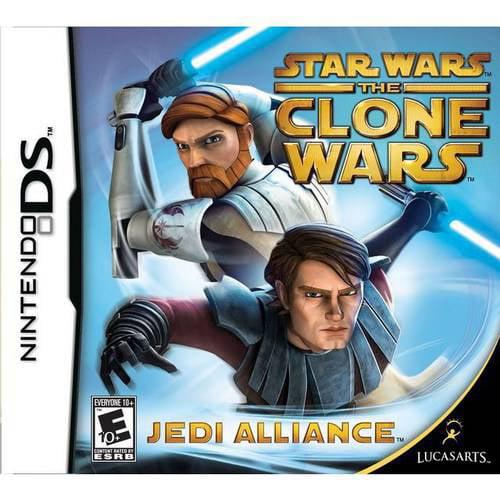Star Wars Clone Wars: Jedi Alliance (DS)