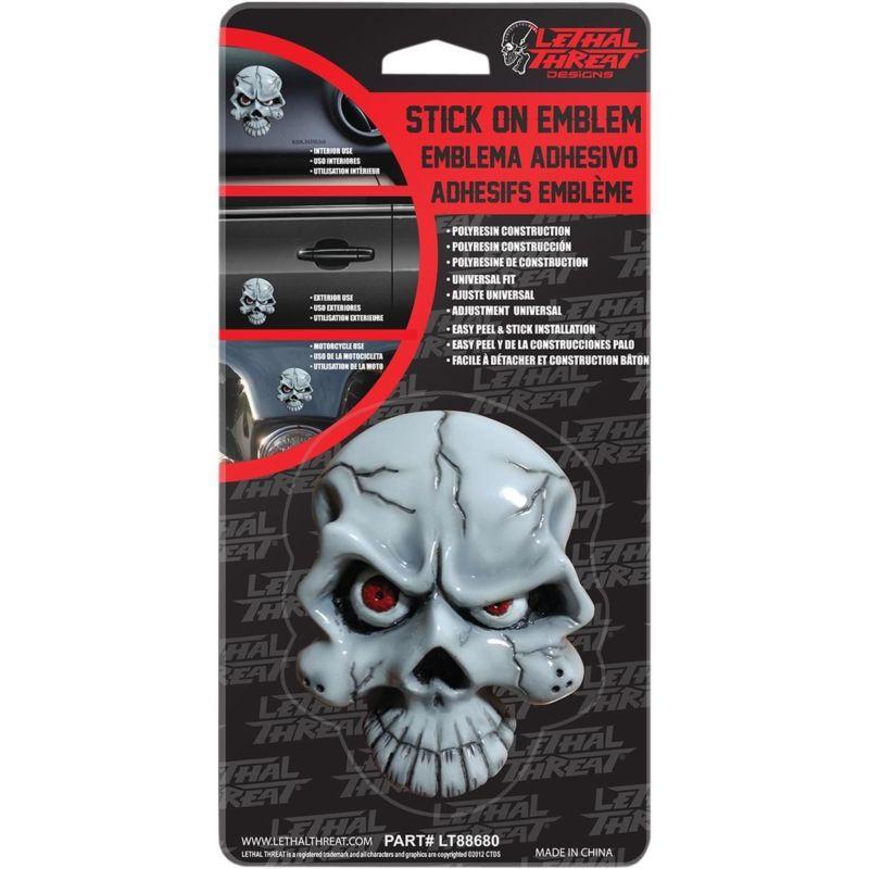 Lethal Threat Eyeball Skull Emblem