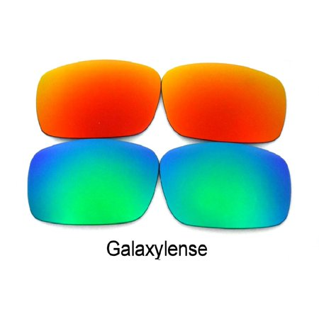 d73458621876 Galaxy Replacement Lenses for Oakley Costa Del Mar Fantail Red & Green  Color 100% UVAB - Walmart.com