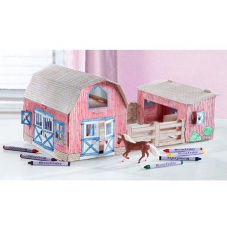 Breyer Horse Crazy Create and Color Barn (Breyer Barn And Horses)