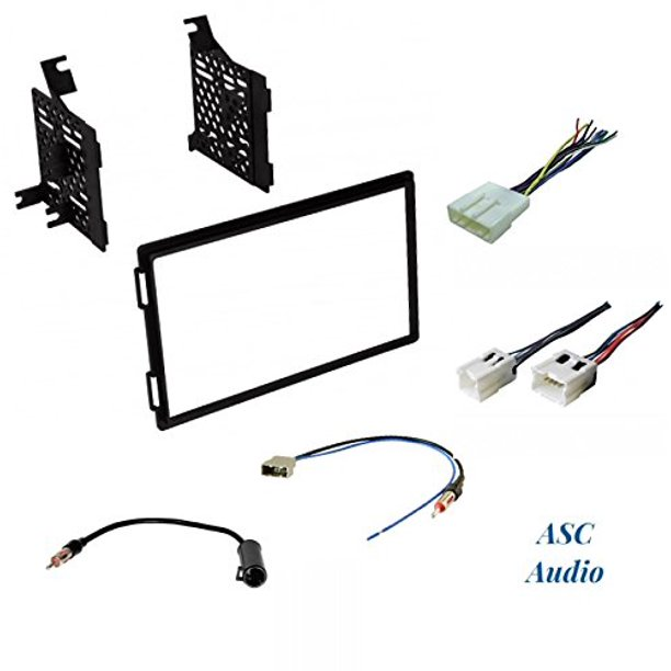 Premium Car Stereo Install Dash Kit, Wire Harness, and