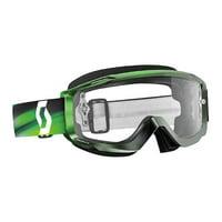 Grey Green/Clear Scott USA Split Speed OTG Goggles