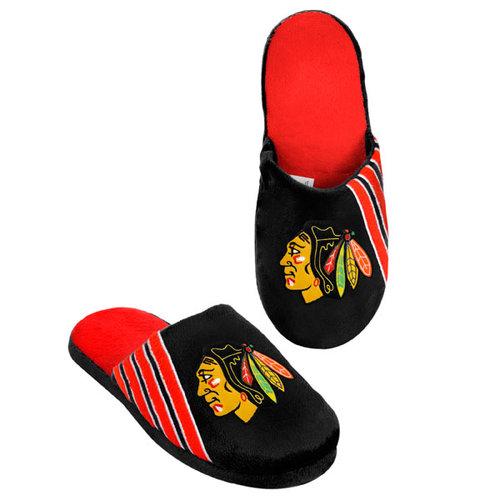 NHL - Chicago Blackhawks Hard Sole Stripe Slipper