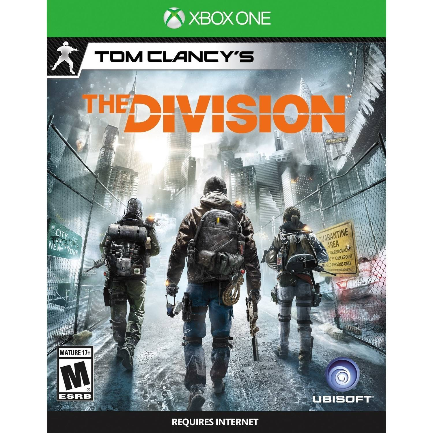 Tom Clancy's The Division Used (Xbox One) by Ubisoft