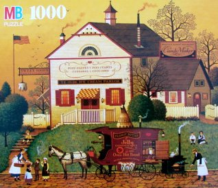 Charles Wysocki's Americana 1000pc. Sugar and Spice-Eat Everything Twice Puzzle, Charles Wysocki's Americana... by
