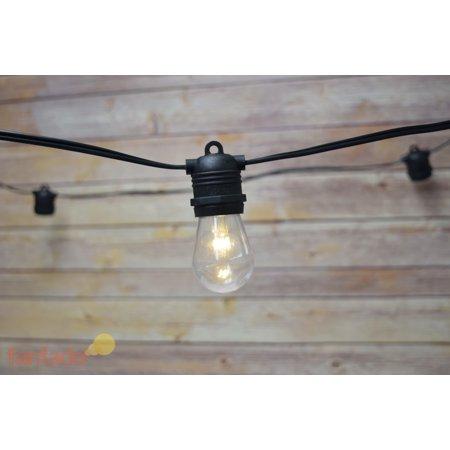 fantado 10 socket outdoor commercial grade patio string With outdoor string lights shatterproof