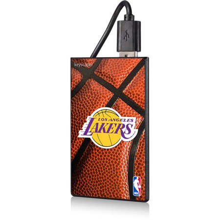 Los Angeles Lakers Basketball Design 2200mAh Credit Card Powerbank by Keyscaper by