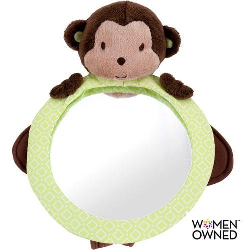 Child of Mine Plush Mirror, Monkey