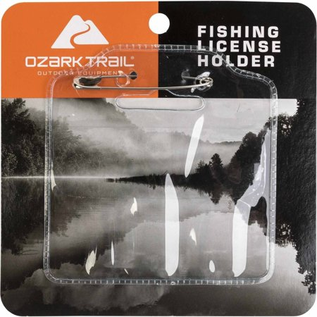 Ozark trail license holder for Fishing license price at walmart