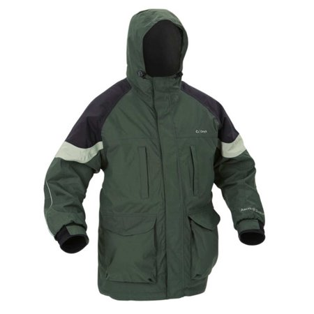 ArcticShield Cold Weather Plus Parka in Charcoal / Black with Hood - (Best Parkas For Arctic Weather)