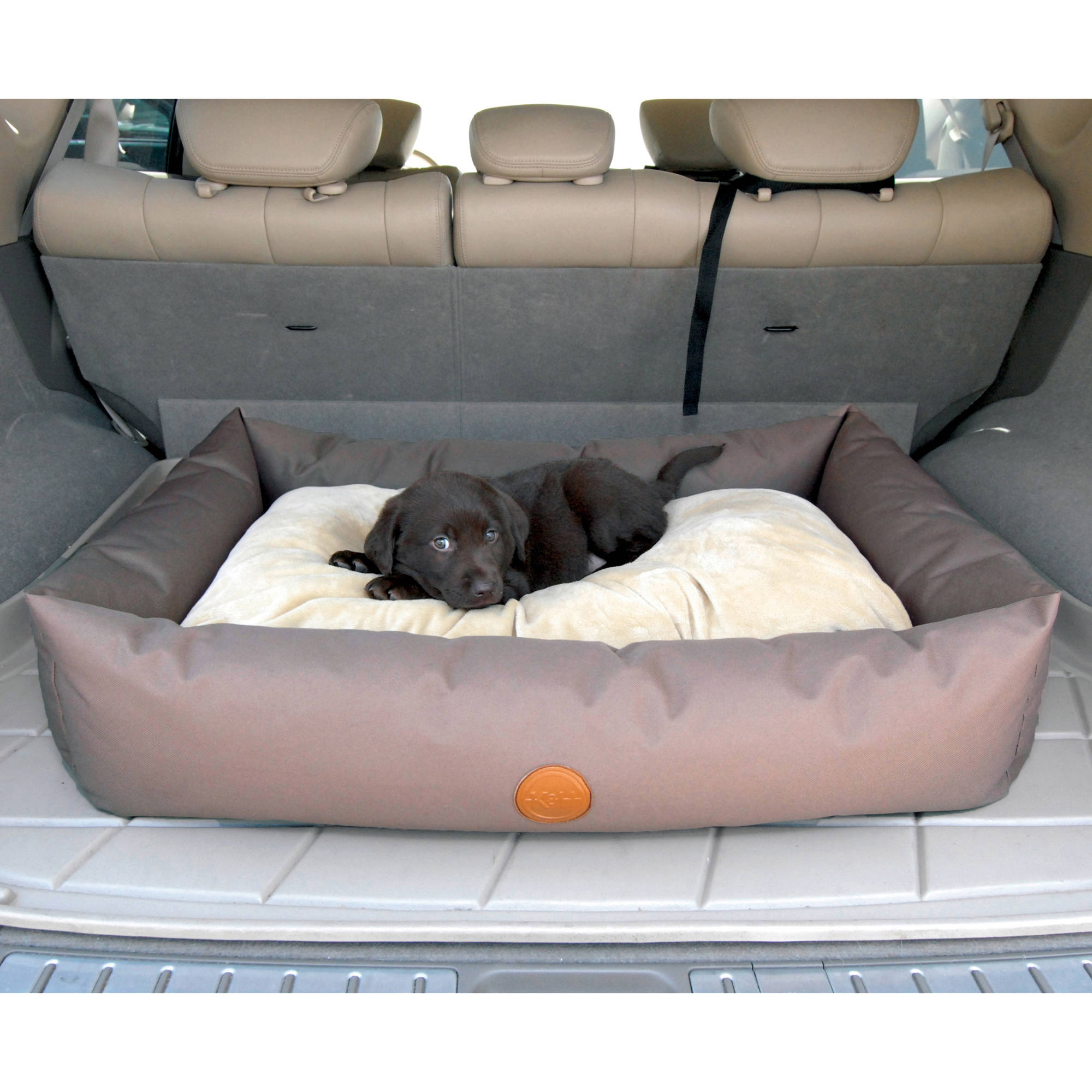 K&H Pet Products Travel/SUV Pet Bed, Small, Tan